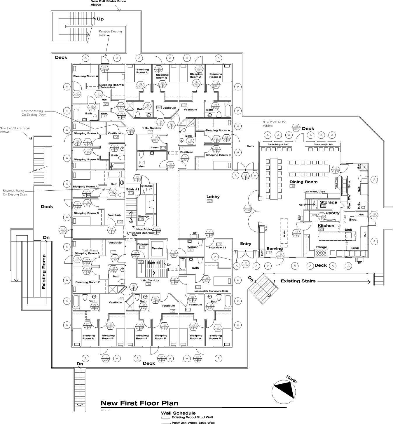 IRC First Floor Plan